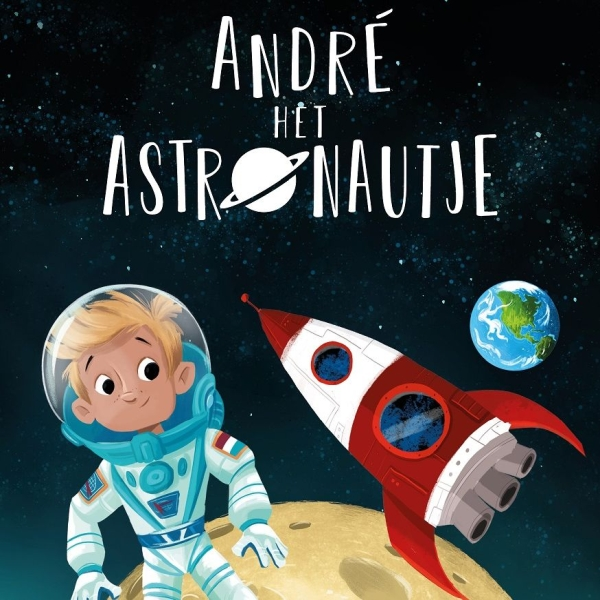 André het astronautje [4+]