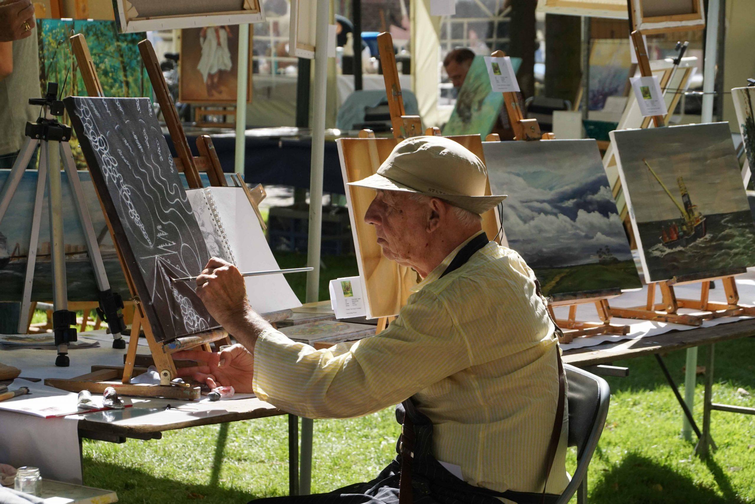 Kunstmarkt tijdens Bruisend Brielle