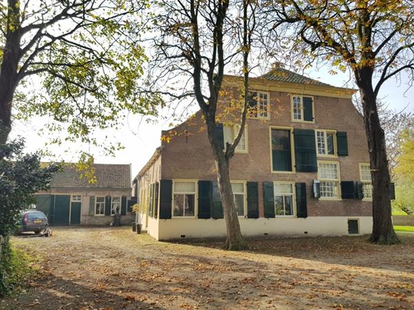 De vier kamers van Hofstede Esterenburg