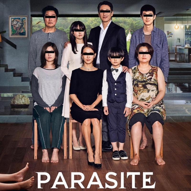 Film Parasite in BREStheater